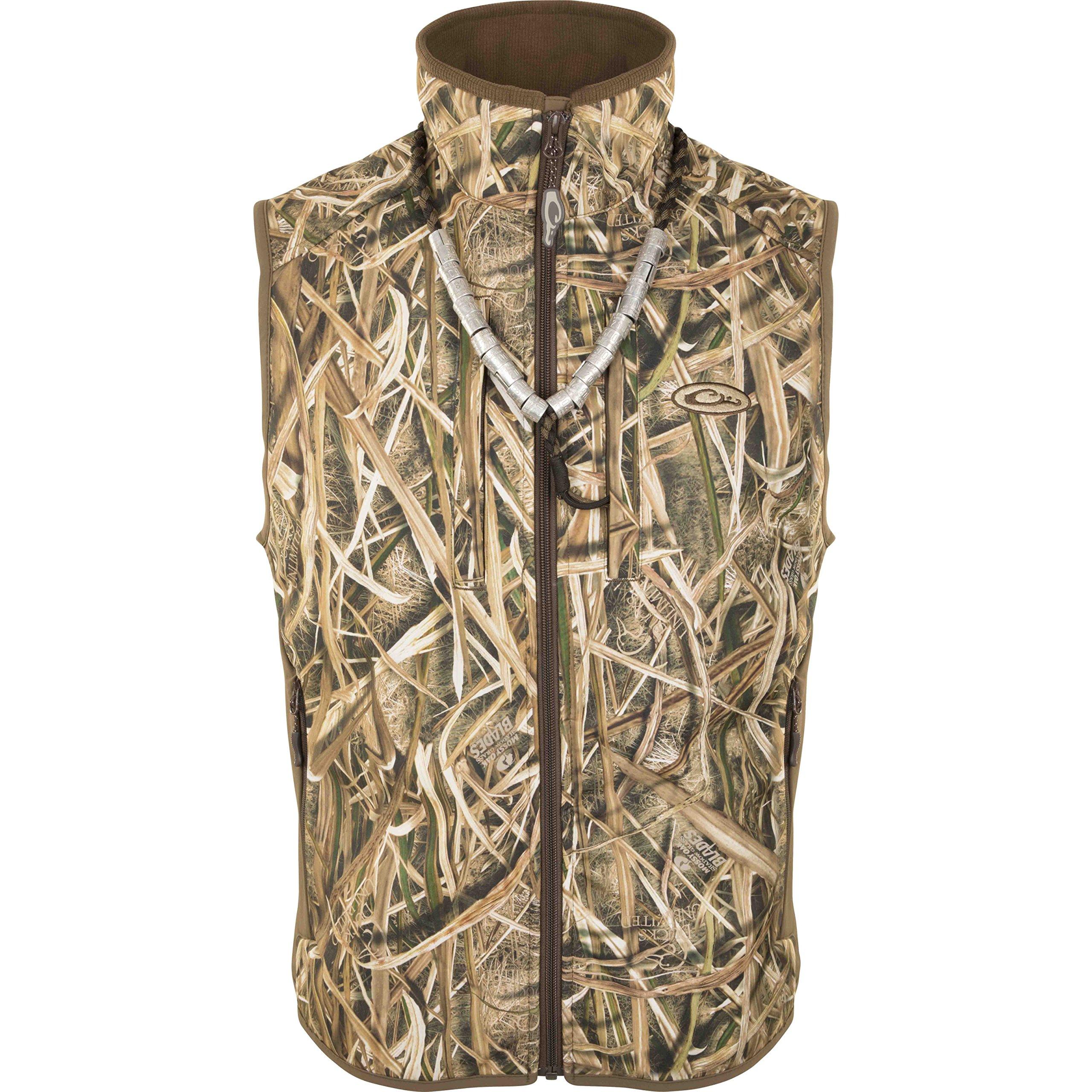 Drake EST Windproof Tech Vest Blades Small