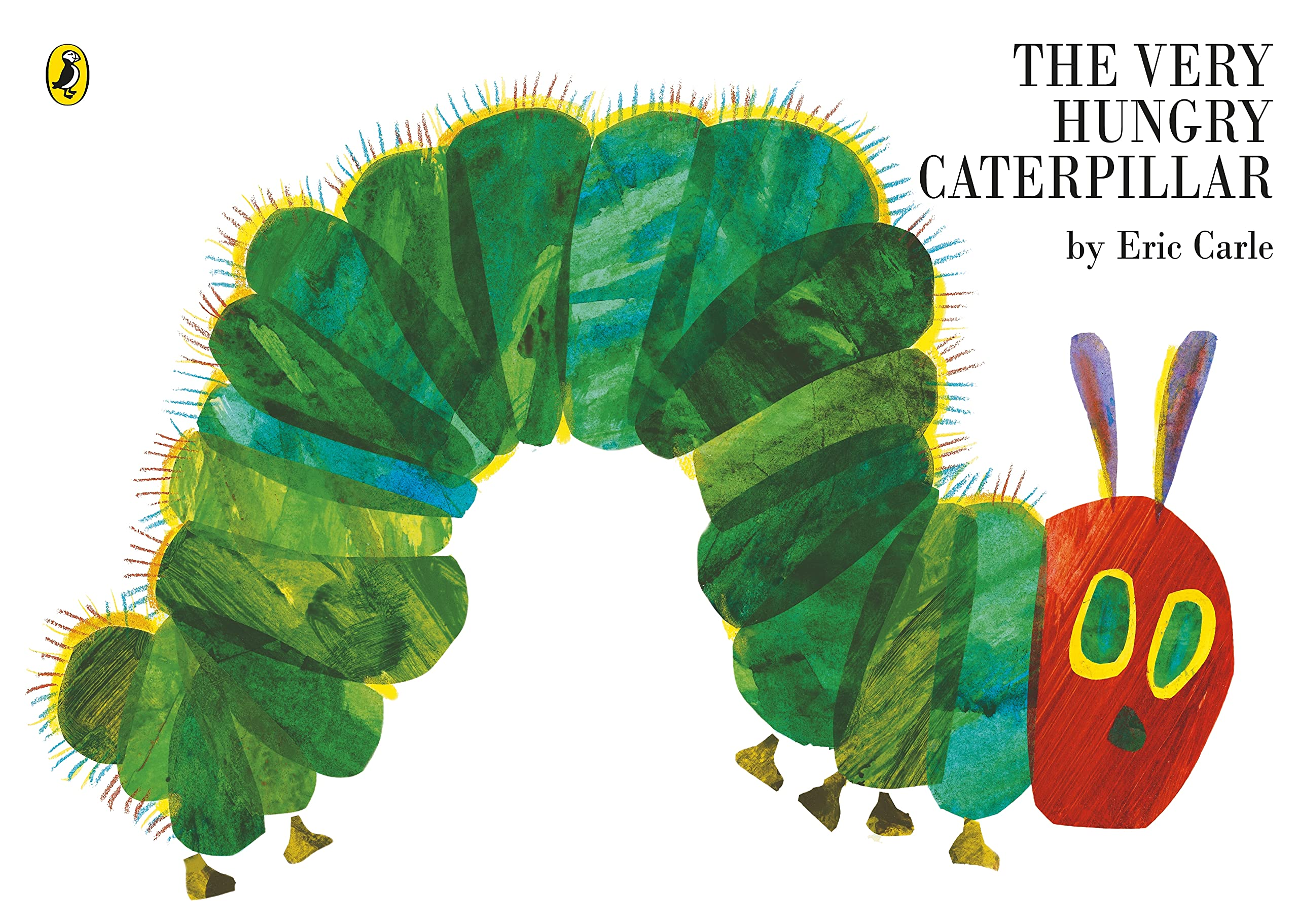 The Very Hungry Caterpillar (Picture Puffins): Carle, Eric: 9780140569322: Amazon.com: Books