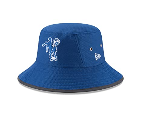 Image Unavailable. Image not available for. Color  Indianapolis Colts New  Era 2017 Training Camp Official Bucket Hat ... cb102b220