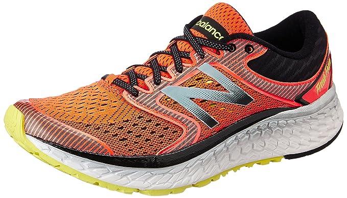 09dc67d71e784e New Balance Frais Mousse 1080v7 Chaussures de Course pour Homme, Orange,  41.5