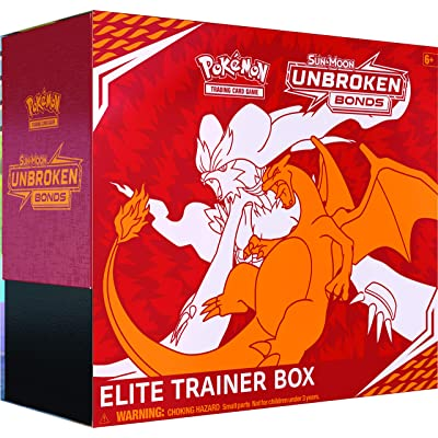 Pokemon TCG: Sun & Moon Unbroken Bonds Elite Trainer Box: Toys & Games