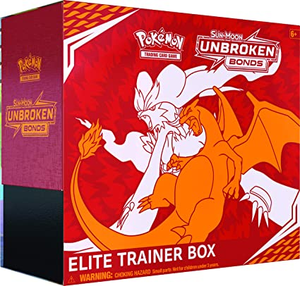Pokèmon Sun/&Moon UNBROKEN BONDS Booster Packs SEALED Charizard GX Reshiram 10Pk