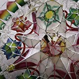 Gift Ko Handmade Tala Poinsettia w/Rope Parol
