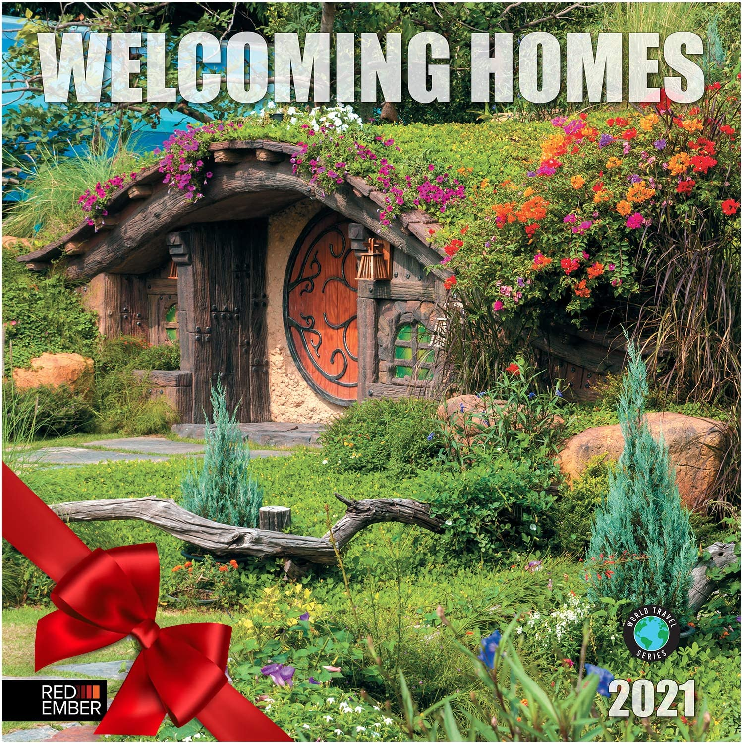 Welcoming Homes - 2021 Hangable Wall Calendars by Red Ember Press - 12