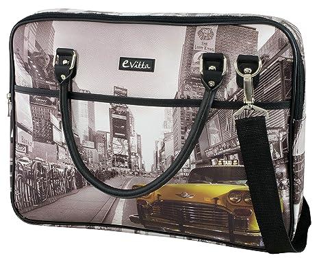 E-Vitta Trendy - Bolsa para portátil de 16, diseño New York Taxi ...