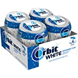 Orbit White Peppermint Sugarfree Chewing Gum, 40 count (Pack of 4)