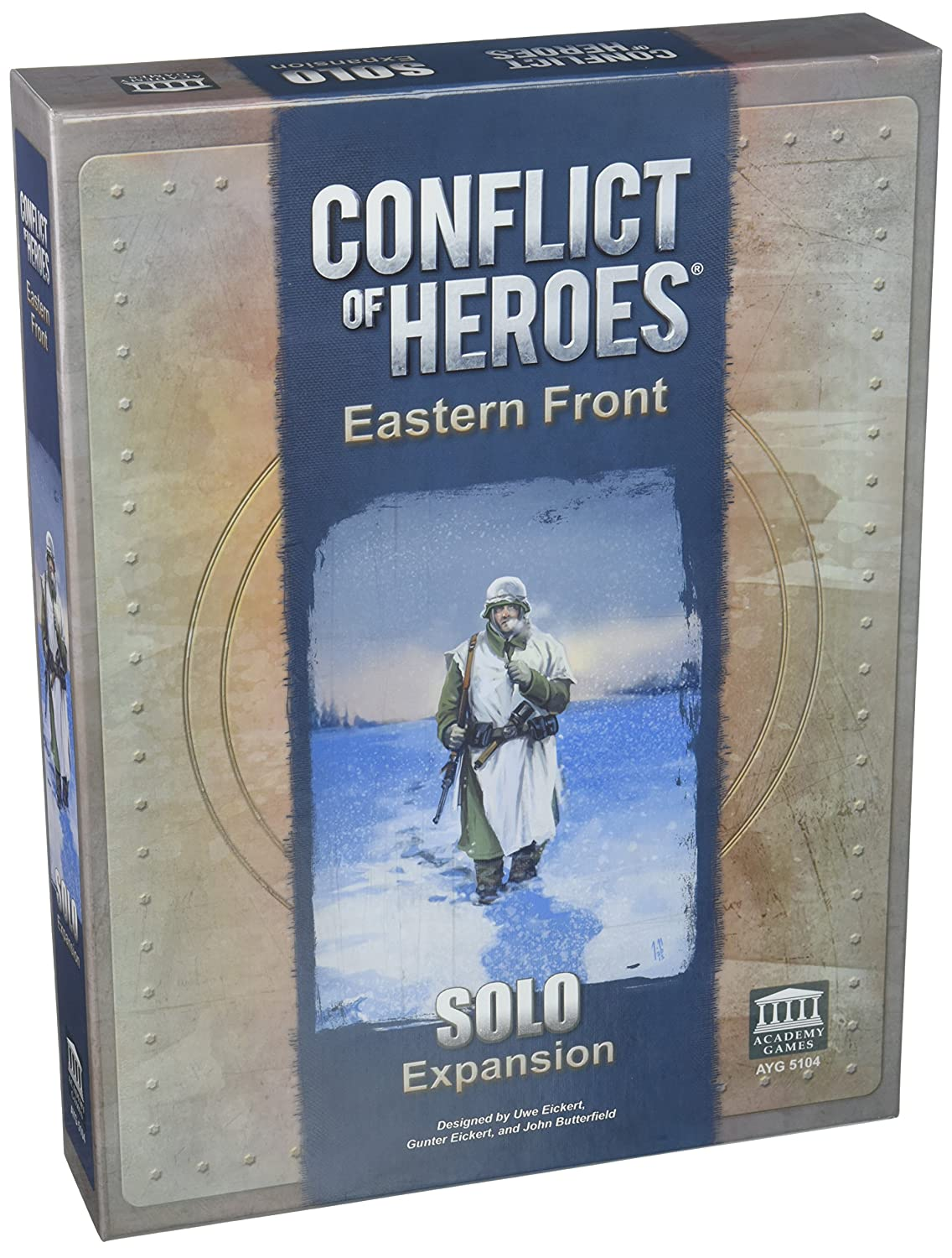 Amazon.com: Academy Games Conflict of Heroes: Eastern Front Solo ...