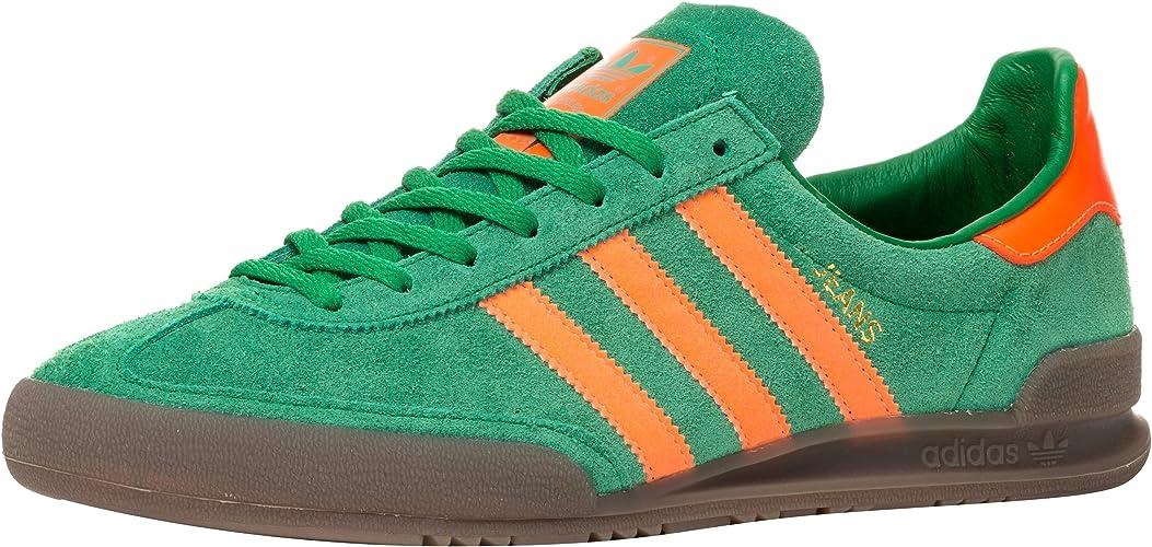 pesado movimiento Manga  adidas Jeans, Green/Solar Orange/Gum, 13, 5: Amazon.co.uk: Shoes & Bags