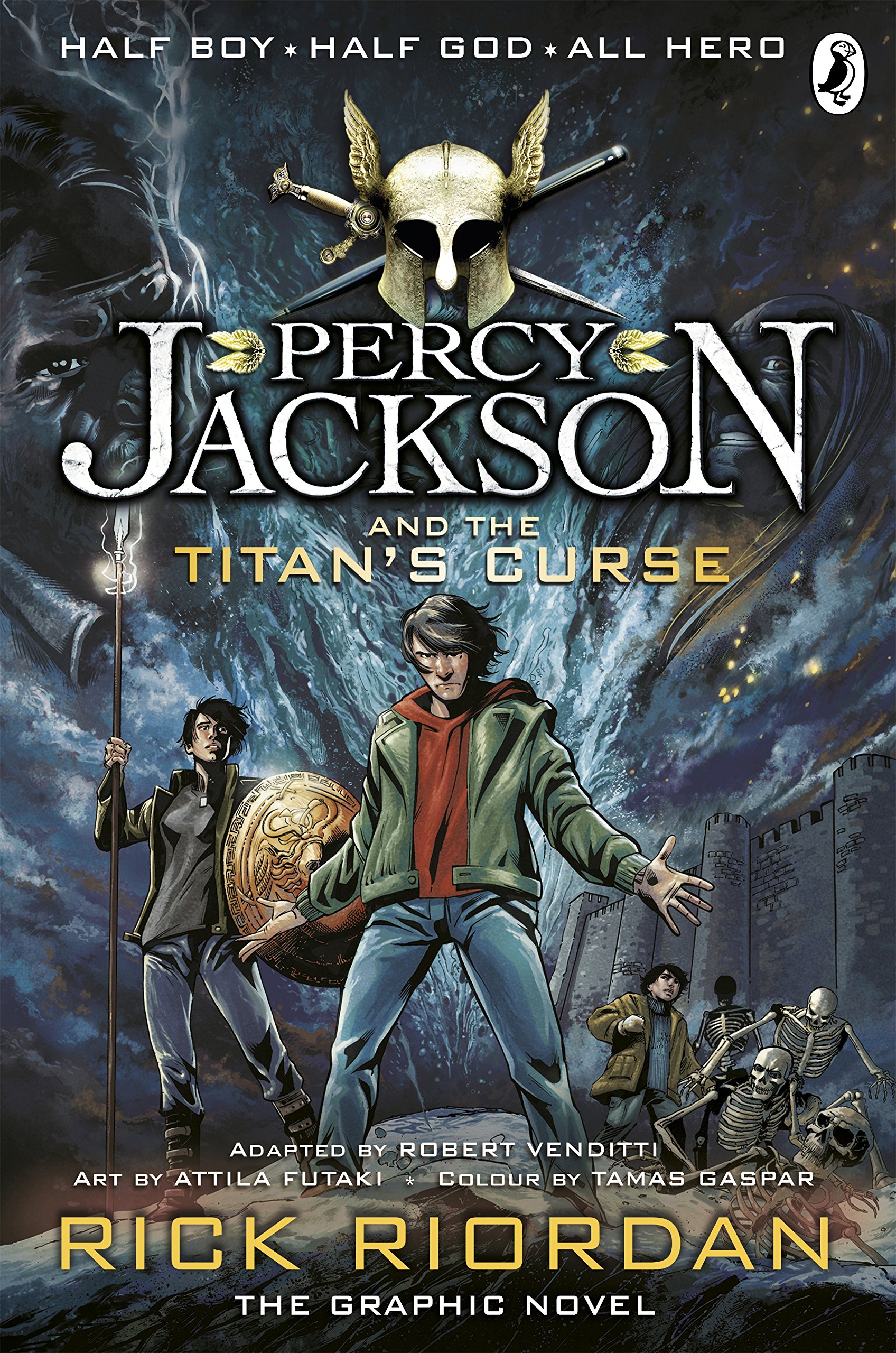Percy Jackson and the Titan's Curse: The Graphic Novel (Book 3) (Percy Jackson Graphic Novels, Band 3)
