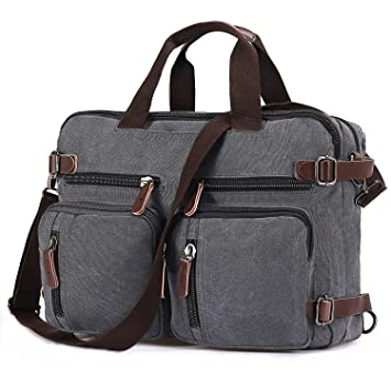 Männer Weinlese Leder  Aktenkoffer  Kurier Schultaschen  Laptop Tasche
