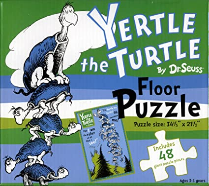 Amazon Com Dr Seuss Yertle The Turtle Floor Puzzle Toys Games Can't play yertle the turtle? amazon com dr seuss yertle the turtle