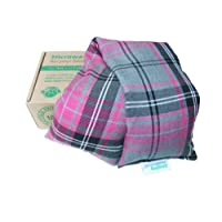 Amazing Health Pink Tartan Luxury Unscented Microwave Cotton Wheat Bag