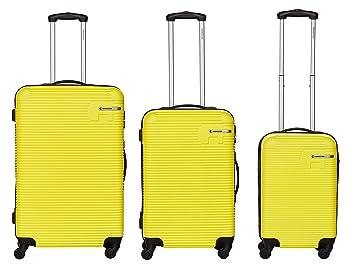 c18a30fdb Bannisters New York - Maleta, amarillo (amarillo) - 103-006: Amazon.es:  Equipaje
