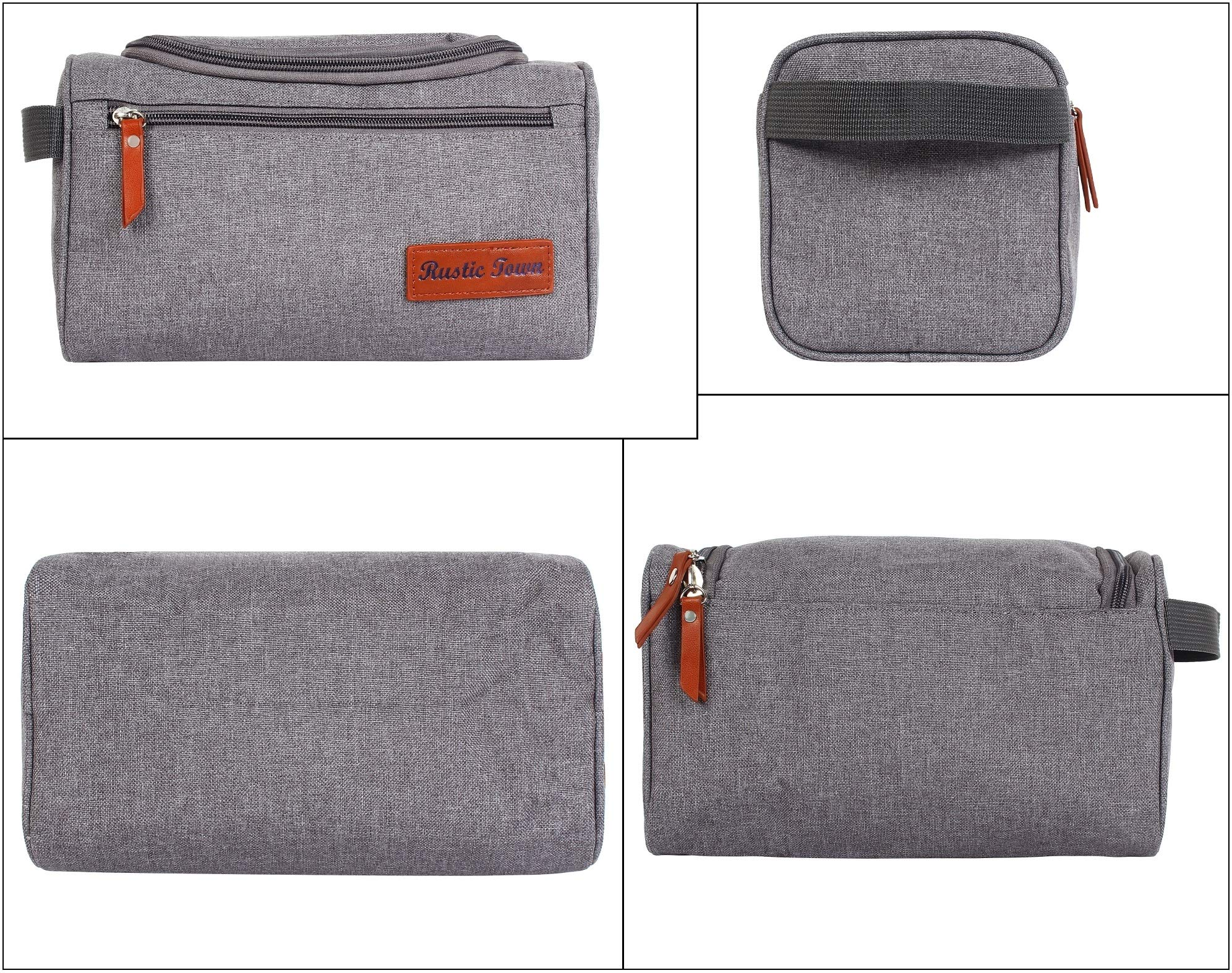 Canvas Toiletry Bag - Hygiene Organizer Dopp/Ditty Kit Cosmetic Bag Travel Shave Kit