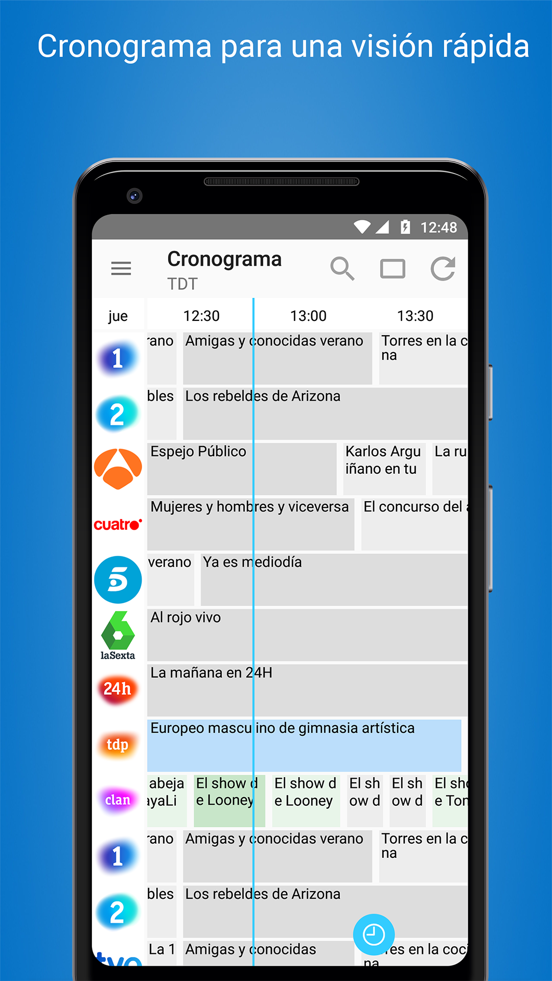 Programación TV España - Cisana TV+: Amazon.es: Appstore para Android