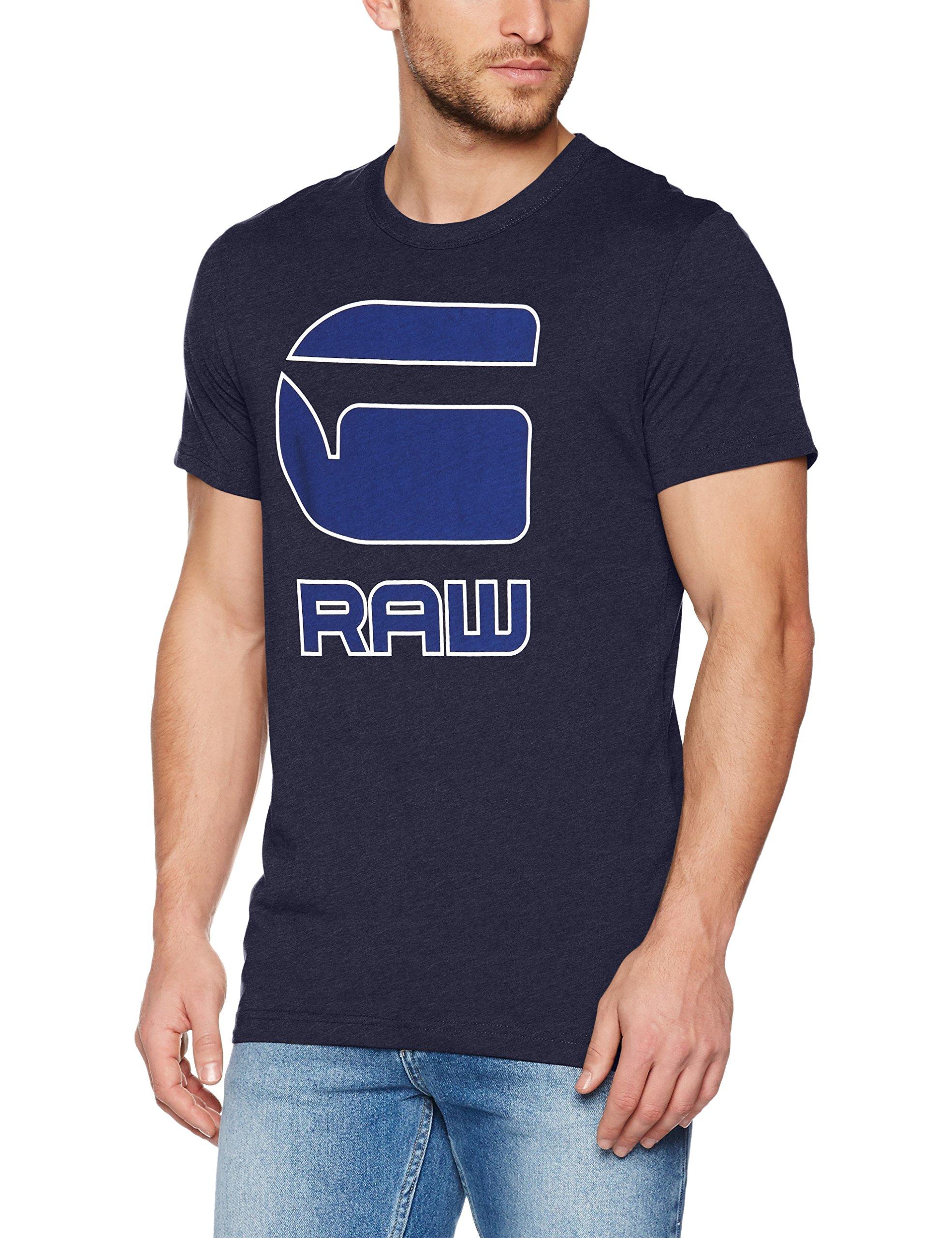 G-Star Raw Men's Cadulor r t s/s, Sartho Blue HTR, XS/1