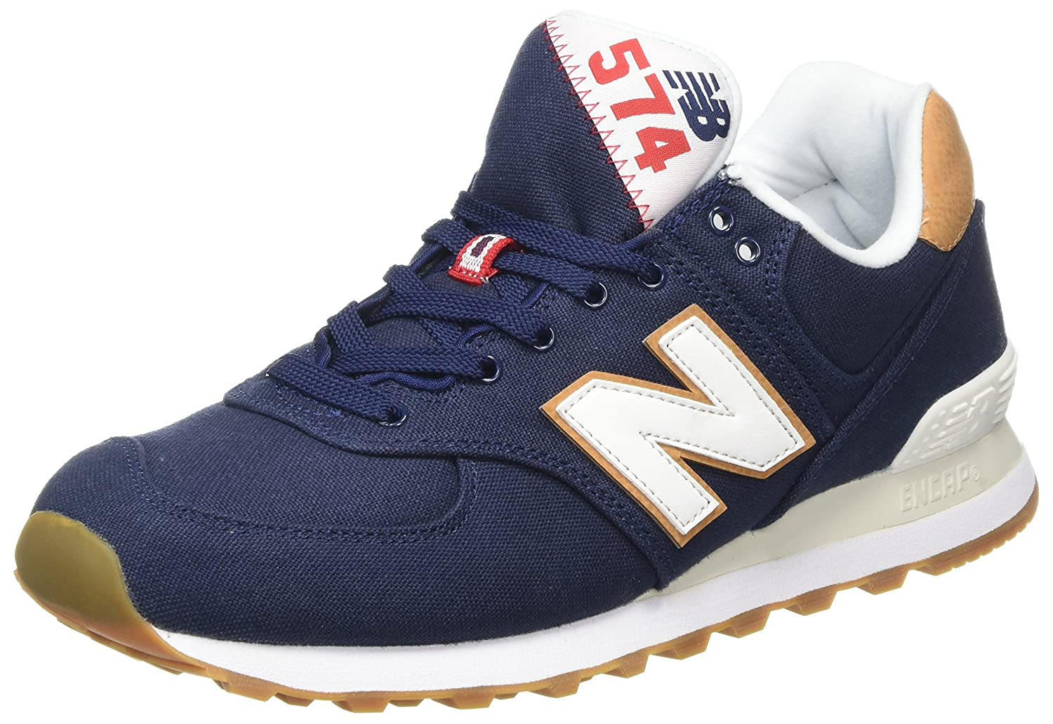 New Balance Herren ML574Y Yatch Pack Sneaker,  45 EU|Blau (Ml574ylc)