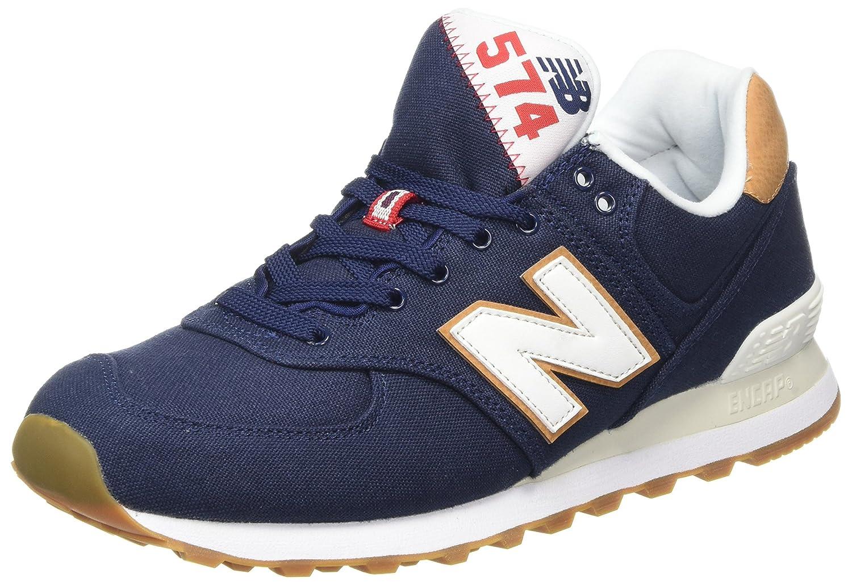 New Balance Herren ML574Y Yatch Pack Sneaker,  42.5 EU|Blau (Ml574ylc)