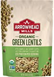 Arrowhead Mills Organic Green Lentils, 16-Ounce Bags  (Pack of 12)