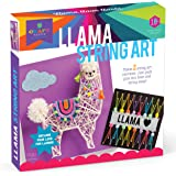 Craft-tastic – String Art Kit – Craft Kit Makes 2 Large String Art Canvases – Llama Edition
