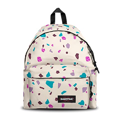 a949be74772 Amazon.com: Eastpak Padded PAK'R Backpack (TERRO White): Sports & Outdoors