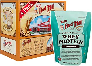 product image for Bob's Red Mill Resealable Whey Protein Powder, 12 Oz (4 Pack)