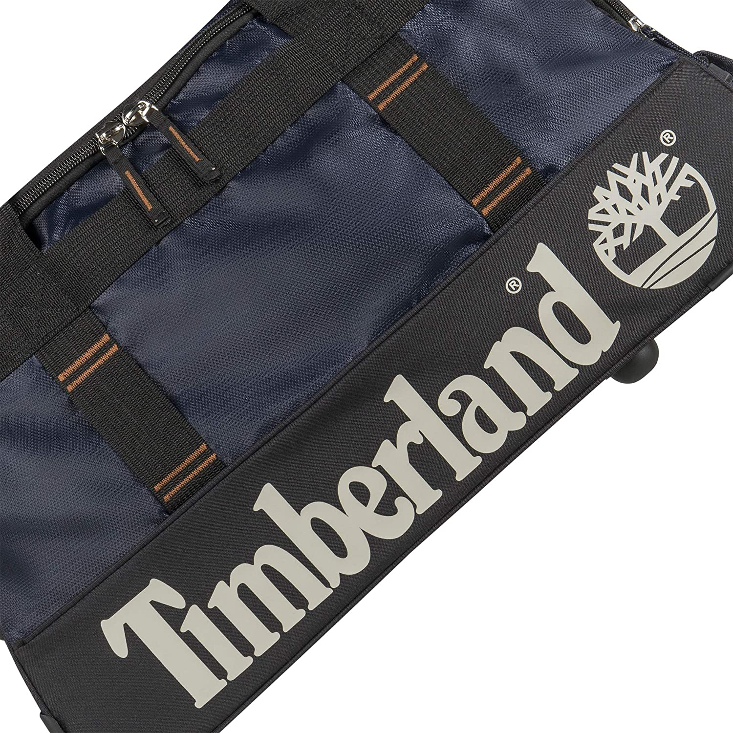 Timberland Wheeled Duffle Bag Carry On Check In Lightweight Rolling Luggage Overnight Travel Bag Suitcase for Men