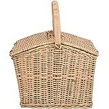 A & E Beautiful Multi Purpose Brown Cane picnic Basket