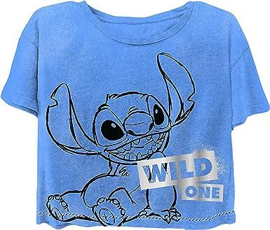Ladies Classic Lilo and Stitch Fashion Tee Lilo and Stitch Short Sleeve Tee Disney Ladies Lilo and Stitch Shirt