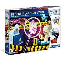 Clementoni 64444 Bilim ve Oyun Dedektif Laboratuvarı