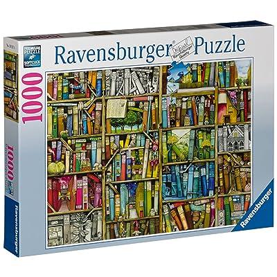 Ravensburger 19137 - Puzzle - Bibliothèque Magique - 1000 pièces