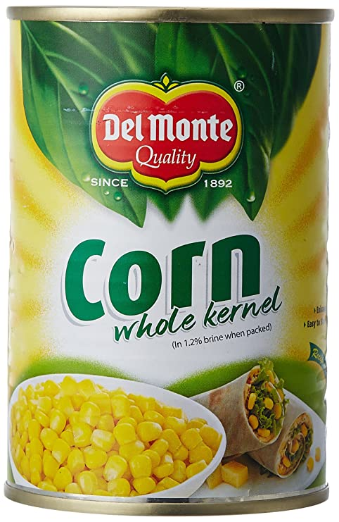 Del Monte Whole Corn Kernels 420g Amazon Cloudtail India