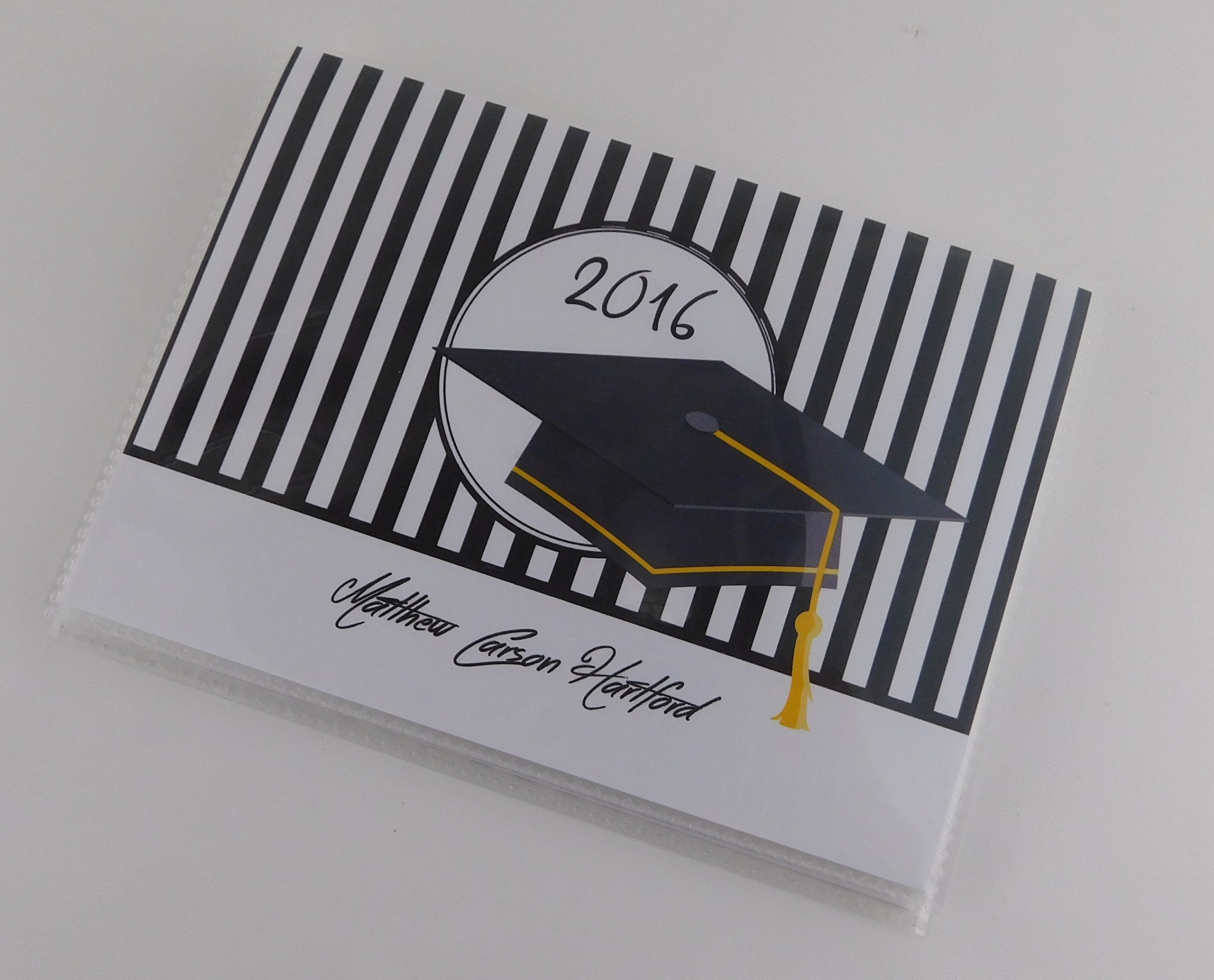 Graduation Gift Graduate Photo Album IA#622 4x6 or 5x7 Picture High School College Graduation Gift Senior