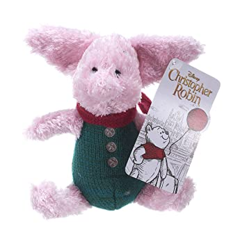 Disney Christopher Robin Collection Winnie The Pooh Piglet - Peluche (18 cm)