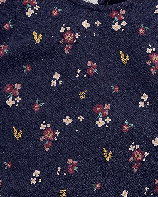 Mamas /& Papas Floral Sweater Navy Sudadera Beb/é-para Ni/ñas