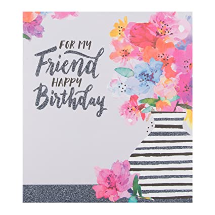 Tarjeta de cumpleaños Hallmark de tamaño mediano para un ...