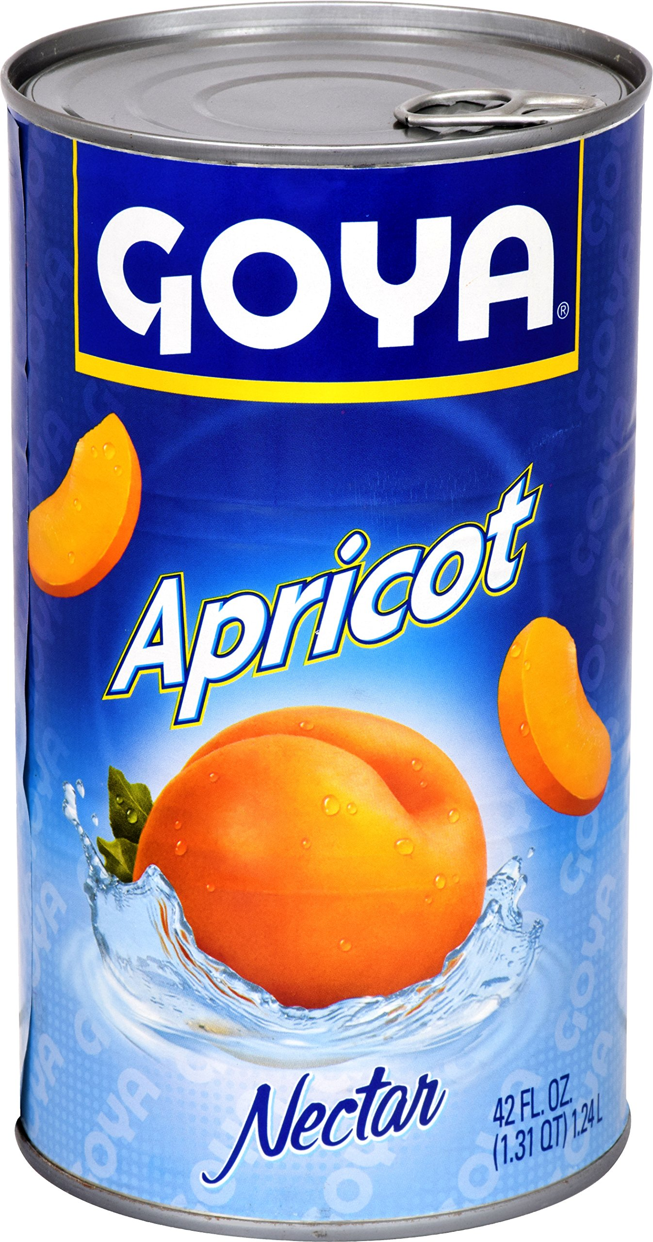 Goya Foods Apricot Nectar, 42 Ounce (Pack of 12)