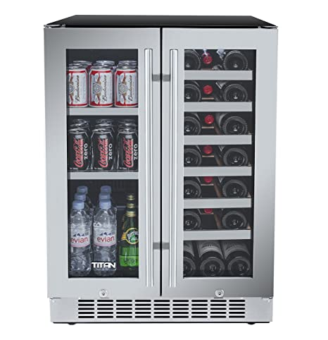 Amazon Titan 24 Inch Built In French Door Wine And Beverage