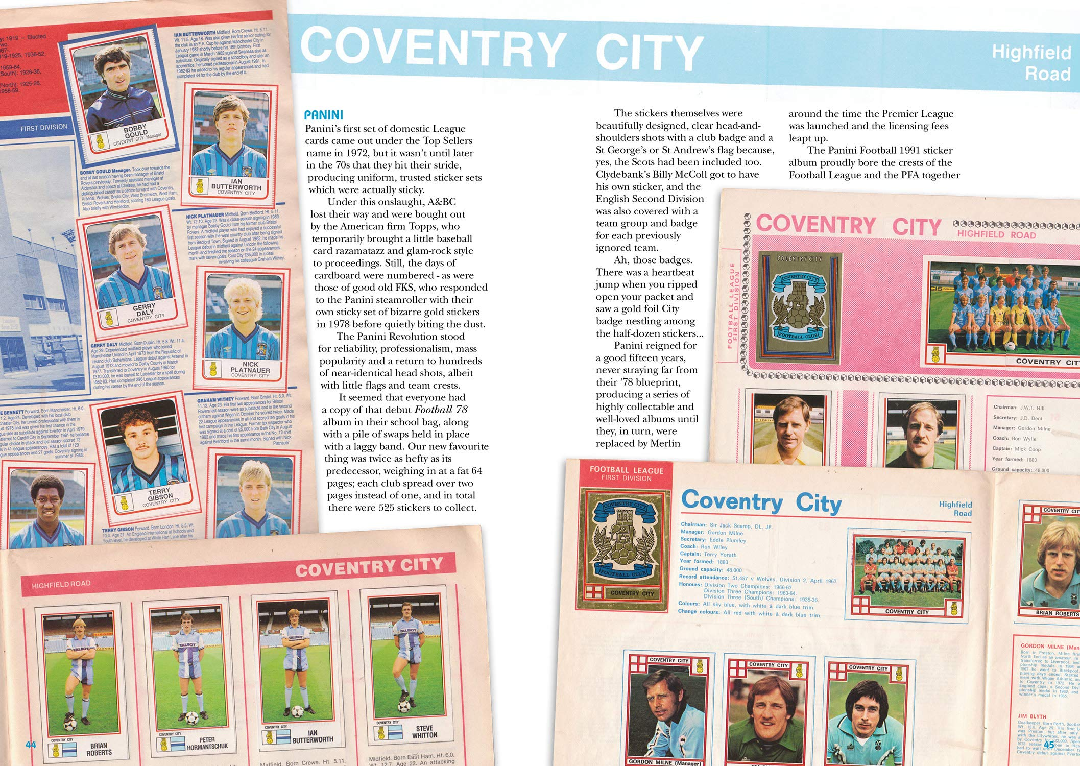 Got, Not Got: Coventry City: The Lost World of Coventry City ...