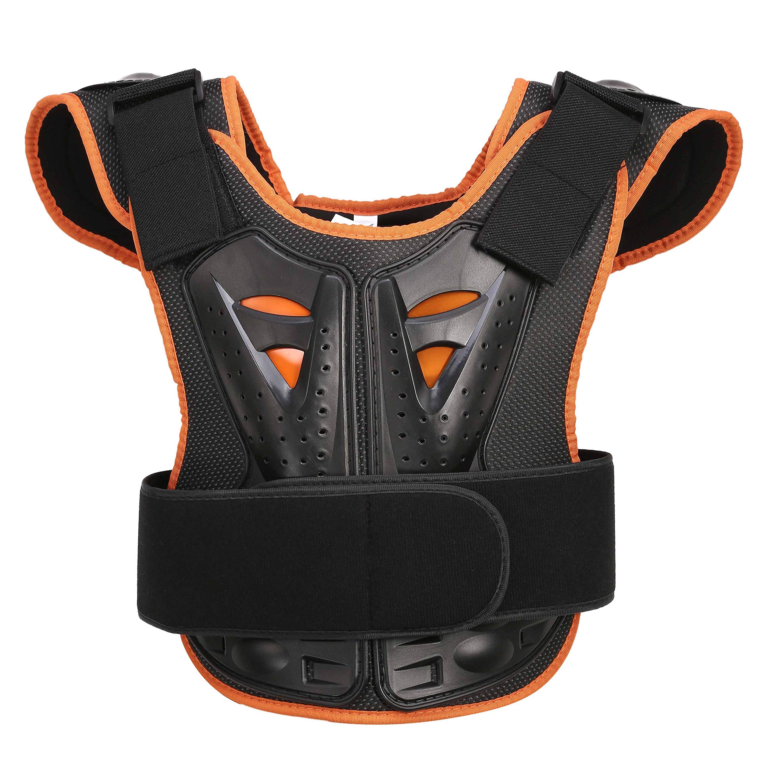 OHMOTOR Kid Body Armor Armour Jacket Children Chest Back Spine Protector Vest (Small)