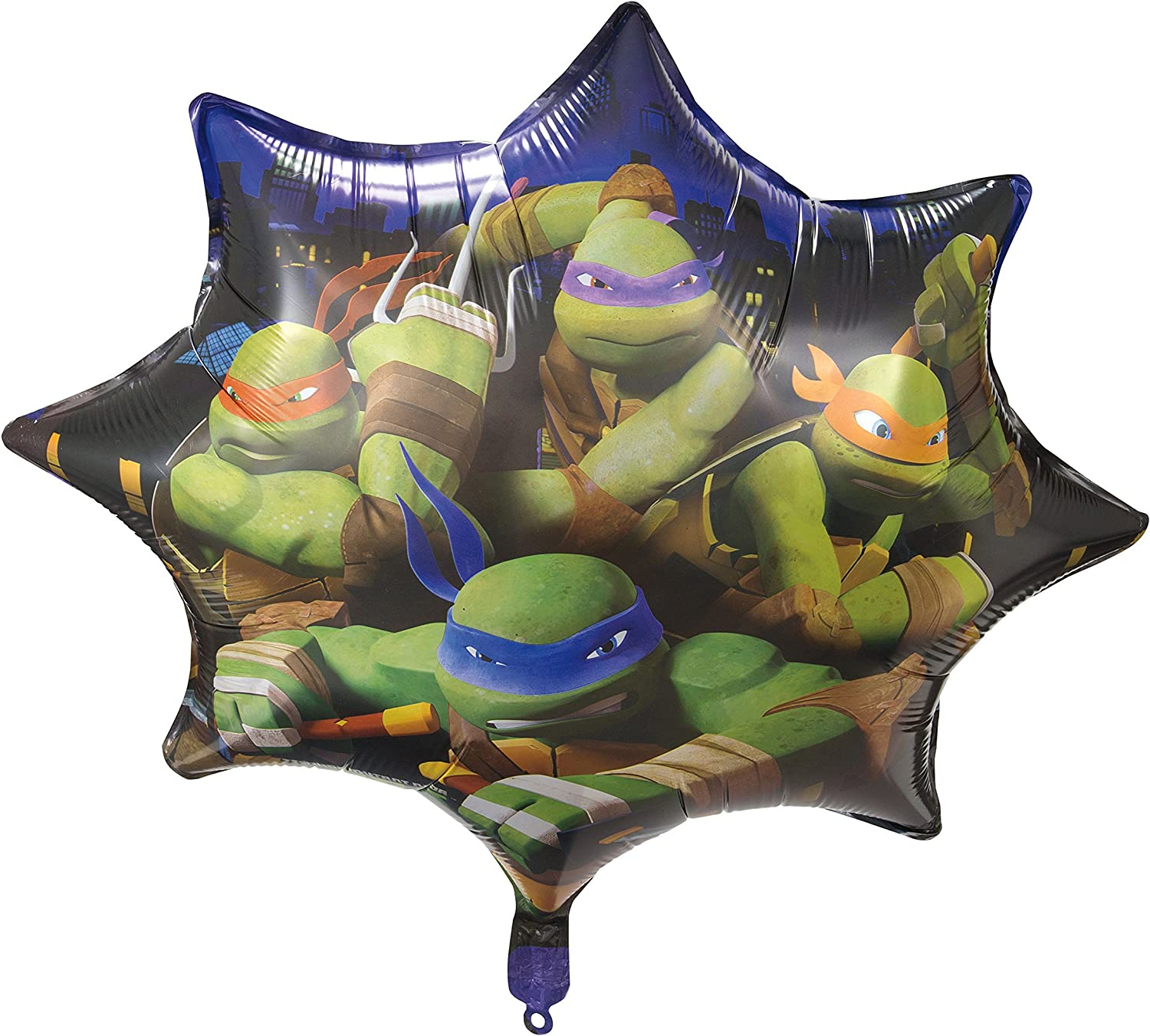 Amazon.com: Globo de helio de Teenage Mutant Ninja Turtles ...
