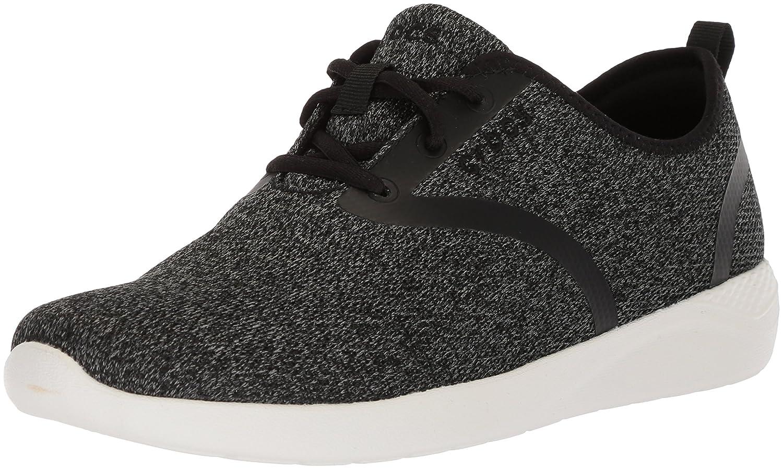 Crocs Women's LiteRide Lace-up Sneaker B074F7TC4P 8 M US|Black/White