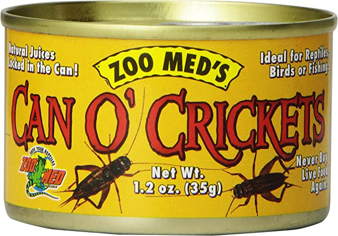 Zoomed's Can O Crickets - 35 gr