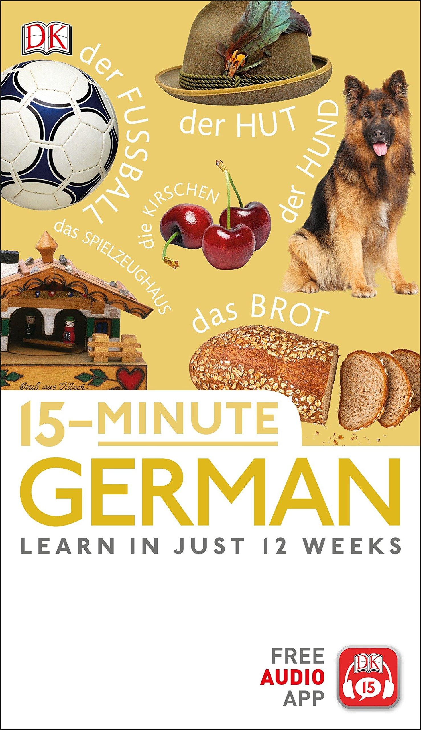 15-Minute German by DK
