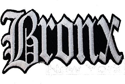Bronx ciudad nueva York NY hierro en parche: Amazon.es: Juguetes y ...