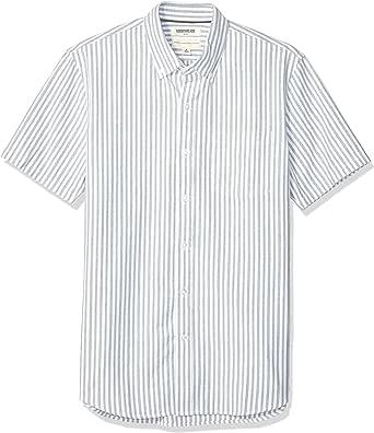 Amazon Brand - Goodthreads Men's Standard-Fit Short-Sleeve Oxford Shirt w/Pocket