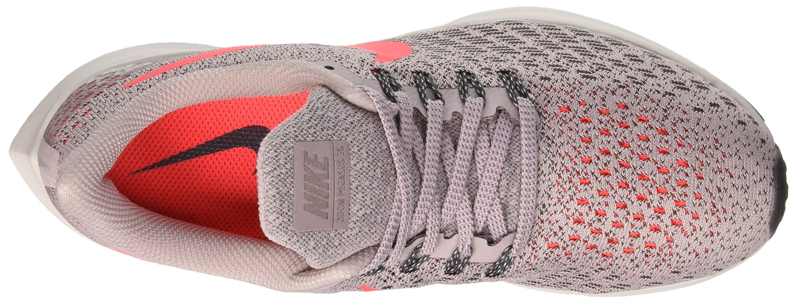 NIKE Women's Air Zoom Pegasus 35 Particle Rose/Flash Crimson-Thunder Grey 9.0