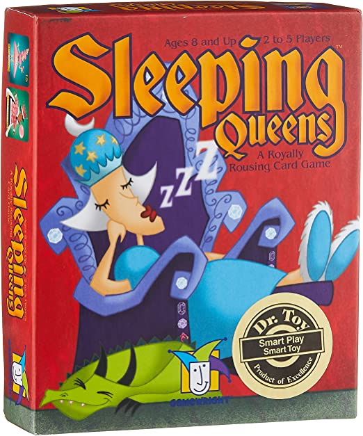 Educational Family Activity for Kids Sleeping Beauty Board Game