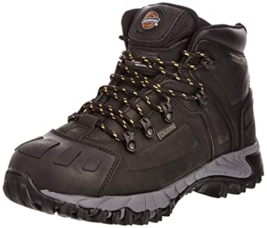 733462f13cf Dickies Unisex-Adult Medway S3 Safety Boots FD23310 Black 6 UK, 40 EU - EN  safety certified