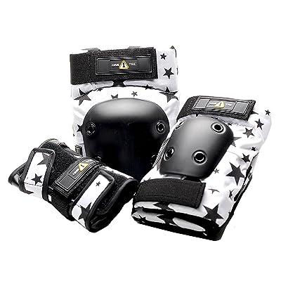 1-tri de protection Research Junior étoiles de sécurité Ensemble (3-Pack), Noir/blanc